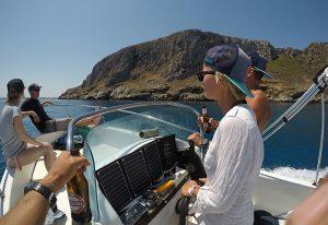 Boat trip Lo Stagnone Marsala Flow Kitesurf School Sicily