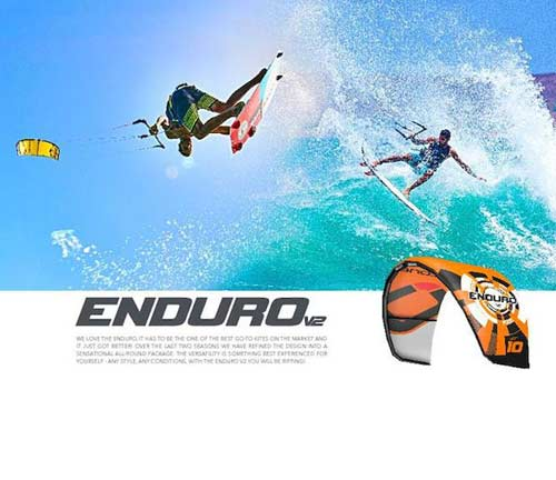Test the New Enduro Ozone 2020 from Flow kitesurf school at the lagoon of Lo Stagnone in Sicily